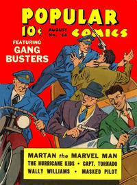 Cover for Popular Comics (Dell, 1936 series) #54