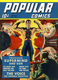 Cover Thumbnail for Popular Comics (Dell, 1936 series) #61