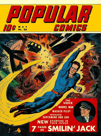 Cover Thumbnail for Popular Comics (Dell, 1936 series) #63