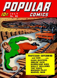 Cover Thumbnail for Popular Comics (Dell, 1936 series) #65