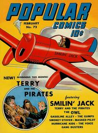 Cover Thumbnail for Popular Comics (Dell, 1936 series) #72