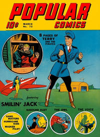 Cover Thumbnail for Popular Comics (Dell, 1936 series) #73