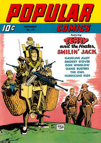 Cover Thumbnail for Popular Comics (Dell, 1936 series) #79
