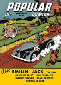 Cover Thumbnail for Popular Comics (Dell, 1936 series) #81