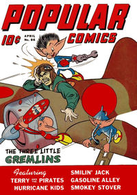 Cover Thumbnail for Popular Comics (Dell, 1936 series) #86