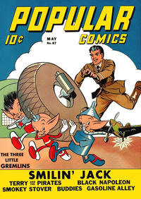 Cover Thumbnail for Popular Comics (Dell, 1936 series) #87