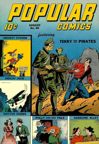 Cover Thumbnail for Popular Comics (Dell, 1936 series) #90