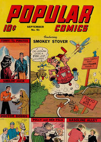 Cover Thumbnail for Popular Comics (Dell, 1936 series) #91