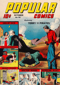Cover Thumbnail for Popular Comics (Dell, 1936 series) #92