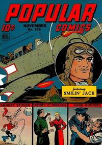 Cover Thumbnail for Popular Comics (Dell, 1936 series) #105