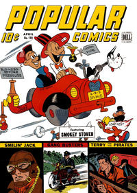 Cover Thumbnail for Popular Comics (Dell, 1936 series) #110