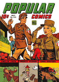 Cover Thumbnail for Popular Comics (Dell, 1936 series) #111
