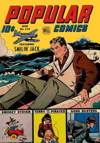 Cover Thumbnail for Popular Comics (Dell, 1936 series) #112