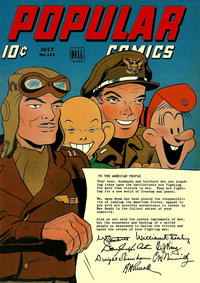 Cover Thumbnail for Popular Comics (Dell, 1936 series) #113