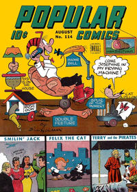 Cover Thumbnail for Popular Comics (Dell, 1936 series) #114