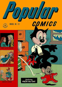 Cover Thumbnail for Popular Comics (Dell, 1936 series) #121