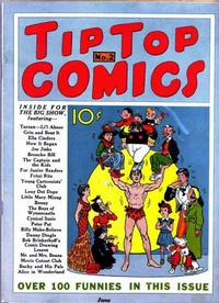Cover Thumbnail for Tip Top Comics (United Features, 1936 series) #2