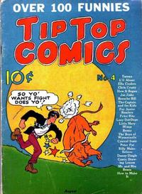 Cover Thumbnail for Tip Top Comics (United Features, 1936 series) #4