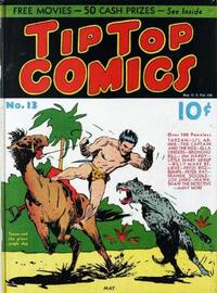 Cover Thumbnail for Tip Top Comics (United Features, 1936 series) #13