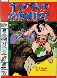 Cover Thumbnail for Tip Top Comics (United Feature, 1936 series) #21