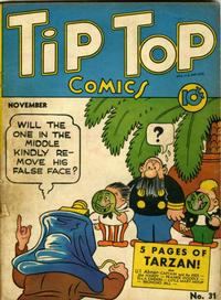 Cover Thumbnail for Tip Top Comics (United Features, 1936 series) #31