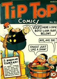 Cover Thumbnail for Tip Top Comics (United Feature, 1936 series) #v3#11 (35)