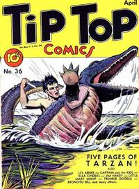Cover Thumbnail for Tip Top Comics (United Feature, 1936 series) #v3#12 (36)