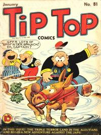 Cover Thumbnail for Tip Top Comics (United Feature, 1936 series) #81