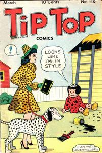 Cover Thumbnail for Tip Top Comics (United Feature, 1936 series) #v10#8 (116)