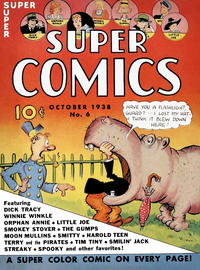 Cover Thumbnail for Super Comics (Western, 1938 series) #6