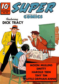Cover Thumbnail for Super Comics (Western, 1938 series) #54