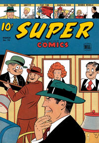 Cover Thumbnail for Super Comics (Dell, 1943 series) #70