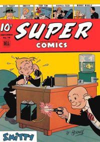 Cover Thumbnail for Super Comics (Dell, 1943 series) #78