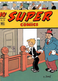 Cover Thumbnail for Super Comics (Dell, 1943 series) #80