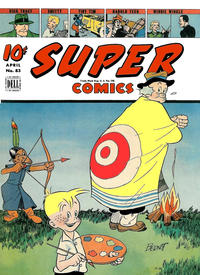 Cover Thumbnail for Super Comics (Dell, 1943 series) #83