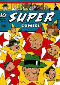 Cover Thumbnail for Super Comics (Dell, 1943 series) #87