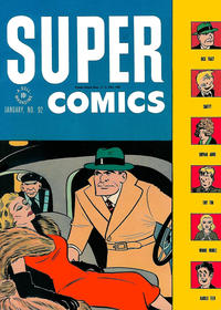 Cover Thumbnail for Super Comics (Dell, 1943 series) #92