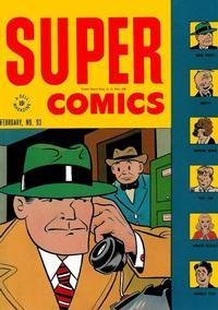 Cover Thumbnail for Super Comics (Dell, 1943 series) #93
