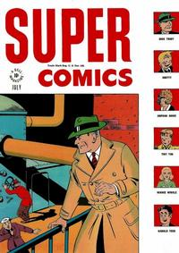 Cover Thumbnail for Super Comics (Dell, 1943 series) #98