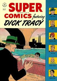 Cover Thumbnail for Super Comics (Dell, 1943 series) #110