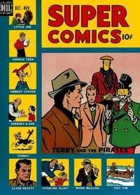 Cover Thumbnail for Super Comics (Dell, 1943 series) #119
