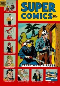 Cover Thumbnail for Super Comics (Dell, 1943 series) #120