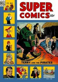 Cover Thumbnail for Super Comics (Dell, 1943 series) #121