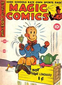 Cover Thumbnail for Magic Comics (David McKay, 1939 series) #31