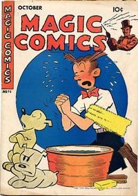 Cover Thumbnail for Magic Comics (David McKay, 1939 series) #75