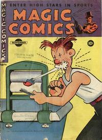 Cover Thumbnail for Magic Comics (David McKay, 1939 series) #76