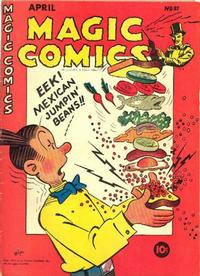 Cover Thumbnail for Magic Comics (David McKay, 1939 series) #81