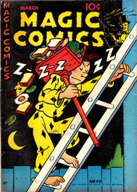 Cover Thumbnail for Magic Comics (David McKay, 1939 series) #92
