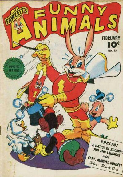 Cover for Fawcett's Funny Animals (Fawcett, 1942 series) #35