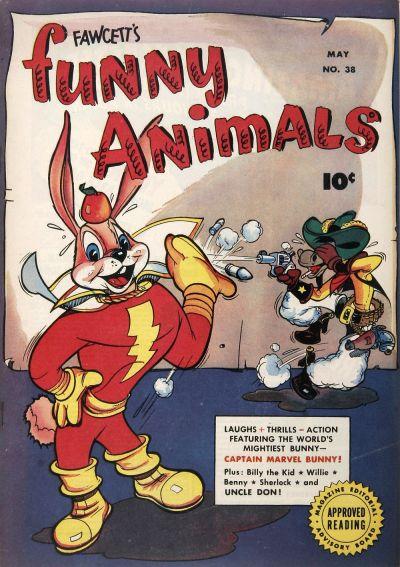 Cover for Fawcett's Funny Animals (Fawcett, 1942 series) #38